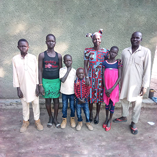 Pastor Isaac and his family